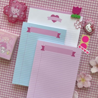 체리블라썸 핑크, 민트 리본 리갈패드