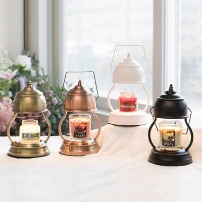 인테리어 소품 램프형 빈티지 밝기 조절 미니 라운드 컵 캔들 워머