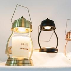 인테리어 소품 램프형 빈티지 밝기 조절 라운드 캔들 워머