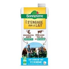 [Bonneterre] 프랑스 유기농 목초 멸균우유