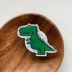 공룡 아크릴버튼톡