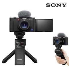 소니 브이로그 카메라 ZV-1 / 블랙 + GP-VPT2BT 패키지