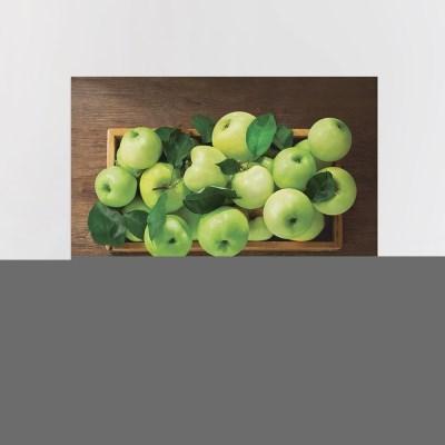 패브릭포스터 과일사진 90x73 행운가득초록사과박스
