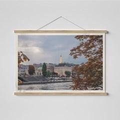 빈티지 필름 패브릭 포스터 _ 파리의 에펠탑