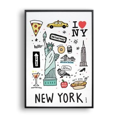 Newyork doodle