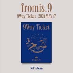 프로미스나인(fromis_9) - 싱글 2집 [9 WAY TICKET] (키트앨범)