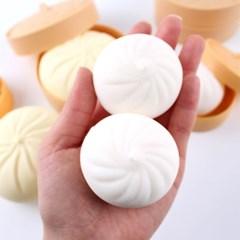 심쿵 (중)사이즈 만두 클레이 모찌 주물럭- 샤오롱 만두 스퀴시 호빵