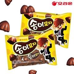오리온 초코 송이모자 203gX2봉/12시까지 당일발송