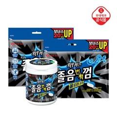 졸음번쩍껌 울트라파워(용기)80gx1개+리필96gx2개