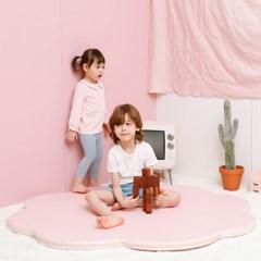 아이스투키 항균 구름매트 핑크