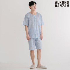 알콩단잠 남아 청소년잠옷 캐롯 초등학생 여름 파자마세트 실내복