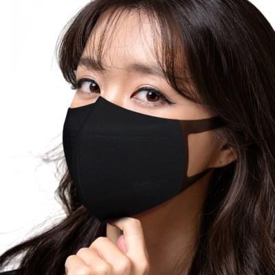 KFAD 블랙 퓨올 플러스 비말차단 마스크 50매