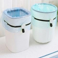 주방 욕실 음식물 자석착착 봉투고정스트랩 4개세트