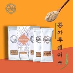 끼니한줌 국내산 백태 콩가루 미숫가루 스틱형 30g 12개입