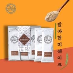 끼니한줌 국내산 발아현미 미숫가루 선식 쉐이크 스틱형 30g 12개입