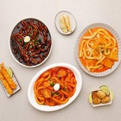츄잇 떡볶이 3종세트 (오리지널/매콤까르보나라/매운짜장)