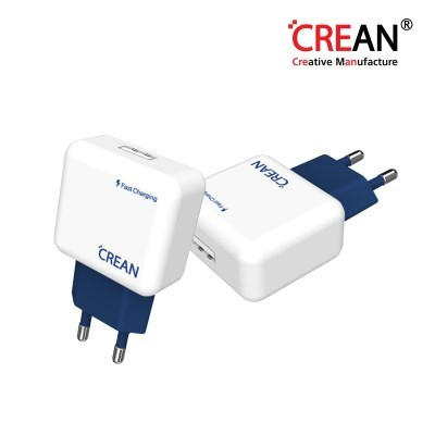 크레앙 퀵 차지 3.0 1포트 충전기 (CREQ1PT)