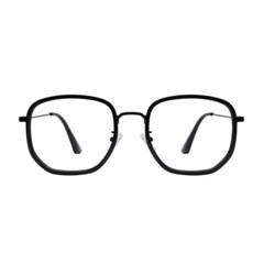 Poetic ALL BLACK 오버사이즈 콤비 뿔테 안경
