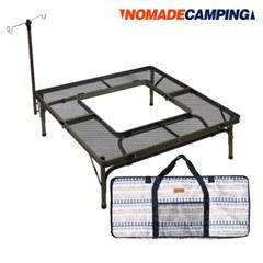 노마드 아이언메쉬 BBQ 캠핑테이블(랜턴걸이) N-7302