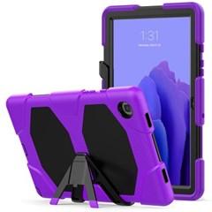 탭A 8.0 T380 스탠딩 실리콘 태블릿 케이스 T080_(3938406)