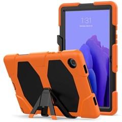 탭A 10.5 T590 스탠딩 실리콘 태블릿 케이스 T080_(3938403)