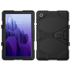 탭S6 5G 10.5 T866 스탠딩 실리콘 태블릿 케이스 T080_(3938395)