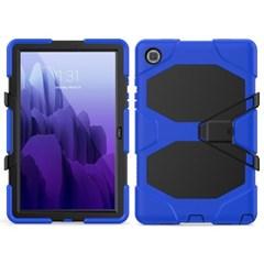 탭S6라이트 P615 스탠딩 실리콘 태블릿 케이스 T080_(3938393)