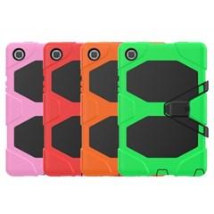 아이패드미니4 스탠딩 실리콘 태블릿 케이스 T080_(3938391)