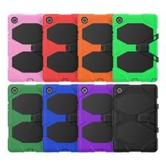 아이패드미니5 스탠딩 실리콘 태블릿 케이스 T080_(3938390)