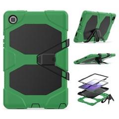 아이패드6 9.7 스탠딩 실리콘 태블릿 케이스 T080_(3938385)
