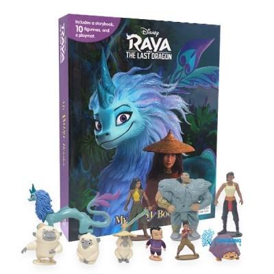 My Busy Books : Disney Raya Last Dragon 피규어북