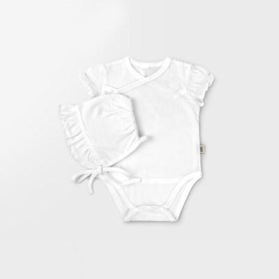 [메르베] 코튼 메쉬 슈트+모자 set_화이트(여)_(1635837)