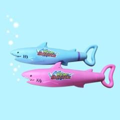 물놀이 장난감 물총 상어 펌프 워터건(색상랜덤)
