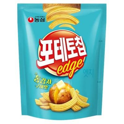 농심 포테토칩 엣지 통감자구이맛 50g x 16봉