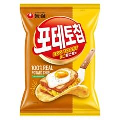농심 포테토칩 에그토스트맛 53g x 16개