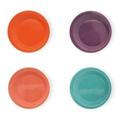 이자와 쿠로리 림 플레이트 (4컬러) 일본 수입 접시