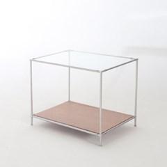 [컨테이너블랙]모듈 협탁 사이드테이블 수납장 [642W]