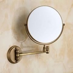 벽걸이 욕실거울/엔틱브론즈 면도경 확대경 양면거울