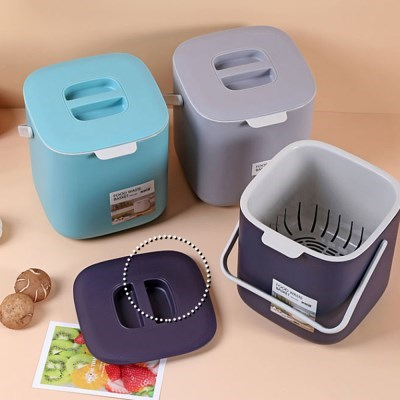 물빠짐 가정용 음식 주방 쓰레기통