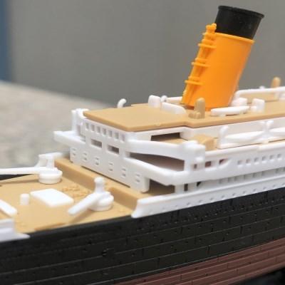 조립도색 완료 타이타닉 TITANIC 모형 유람선 크루즈