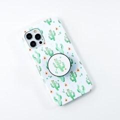 선인장 패턴 톡톡 하드 디자인 제작 케이스 갤럭시 아이폰