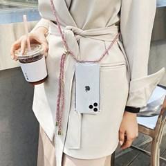 갤럭시 A82 5G (A826) 여행용 김혜수 핸드폰줄 케이스