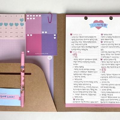 [텐바이텐 단독] B5 페이퍼 파일 노트 세트