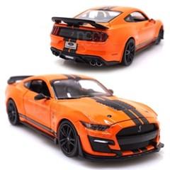 1:24 머스탱 쉘비 GT500 오렌지 미니카