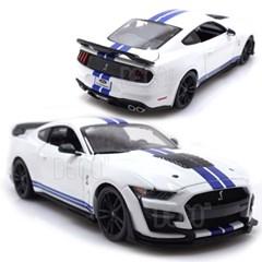 1:18 포드 머스탱 쉘비 GT500 화이트 미니카