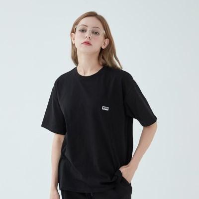 와이즈 베이직 로고 티셔츠 (블랙)