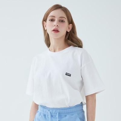 와이즈 베이직 로고 티셔츠 (화이트)