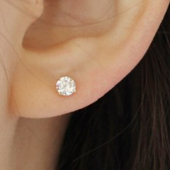 14K 원큐 귀걸이