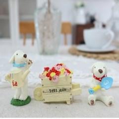 강아지 소품장식 조각인형 가게오픈 아기방 꾸미기소품 인테리어
