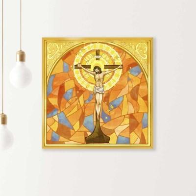 슬림 모던액자 성경 기독교 액자 50x50cm